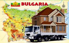 перевозка вещей в Болгарию