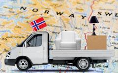 перевозка вещей в Норвегию