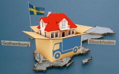 перевозка вещей в Швецию