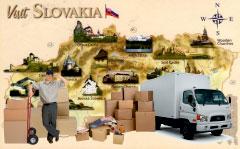 перевезення речей в Словаччину