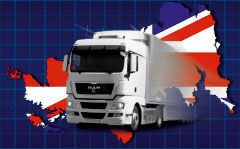 перевозка вещей в Великобританию